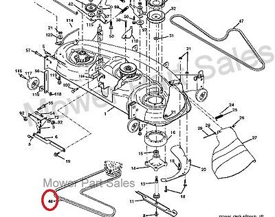 T17854803 Help belt alignment in addition John Deere 272 Grooming Mower Belt Diagram also Replace drive belt on craftsman riding mower together with T16957541 Put drive belt poulan 38 cut rideing furthermore Yard Machine 42 Inch Riding Mower Belt Diagram Yardman Driving Garden Mower Wiring Diagram Get Approximately Wiring. on john deere riding lawn mower parts diagram