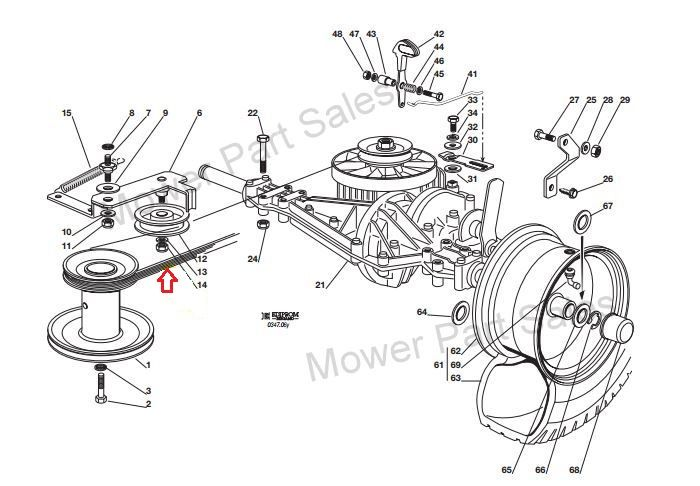 Scotts 1642h Wiring Diagram besides John Deere 425 Parts Diagram furthermore Wiring Diagram For John Deere 170 additionally Genuine Transmission Drive Belt Fits Castel Garden F72 Xf130 Hydro Models Only Mountfield 1228h 1350614030 959 P also John Deere 310d Wiring Diagram. on john deere 102 lawn mower
