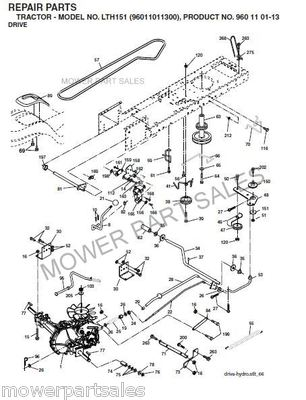 Wiring Diagram For A Huskee Lt 4200 together with T12574885 Need belt routing diagram 261 john deere likewise T24925071 Am looking wiring diagram older as well John Deere 185 Deck Diagrams besides John Deere Transmission. on wiring diagram husqvarna lawn mower